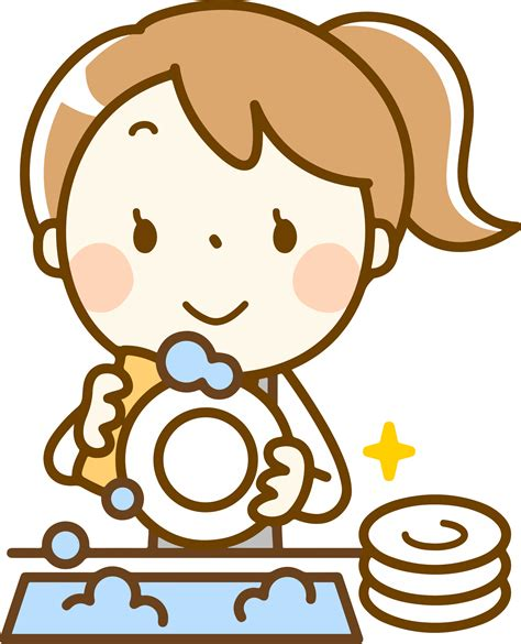 Washing Dishes Clipart Clipart Washing Dishes