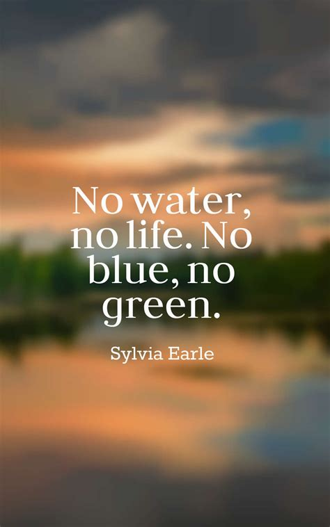 Quotes About Nature Water
