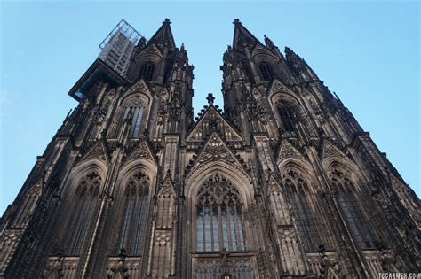 Welcome To The Cologne Cathedral In Germany Carmen