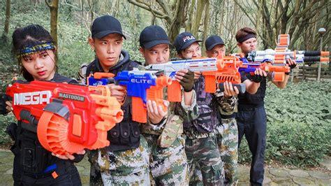Ltt Nerf War  Seal X Warriors Nerf Guns Immortal Battle