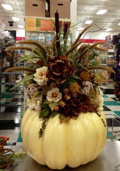 Talented Michaels Designers Floral Pumpkin Kim T