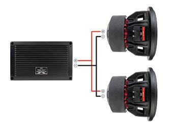 How Connect Two Subwoofers Monoblock Car Amplifer