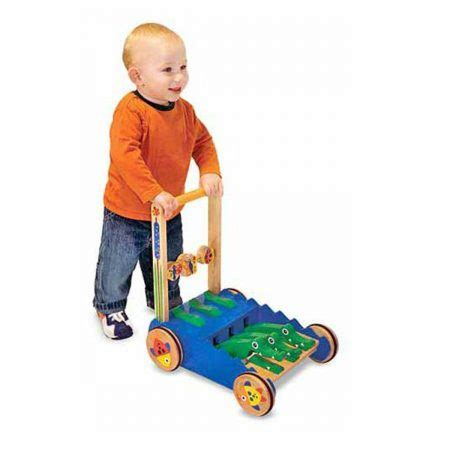 push baby wooden toy walk walker toys olds doug melissa help toddlers alligator learning walking pull chomp clack wood activities