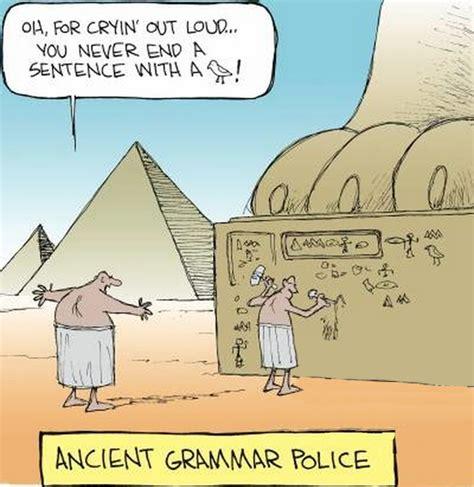 Egyptian Memes - funny egyptian ancient grammar police cartoon my board pinterest cartoon funniest