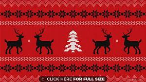 Ugly Christmas Sweater 4K wallpaper