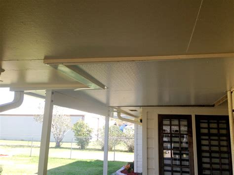 aluminum roof patio cover insulated in baytown tx 187 a 1