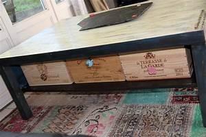 Table Industrielle Ikea : table basse ikea relooker le bois chez vous ~ Teatrodelosmanantiales.com Idées de Décoration