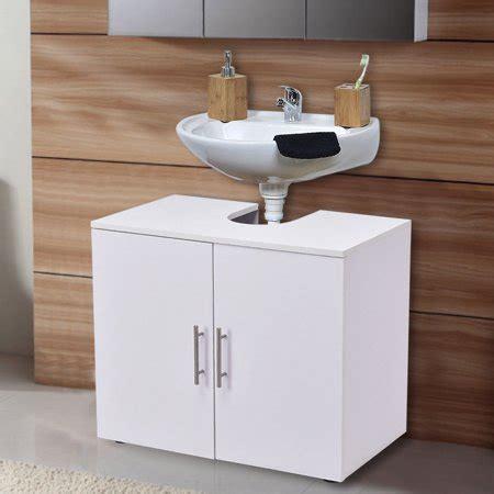 costway  pedestal  sink bathroom storage vanity