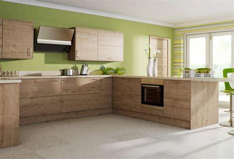 deco cuisine bois clair cuisine moderne et bois le bois chez vous