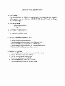P1auic05 Fuel And Emissions Syllabus