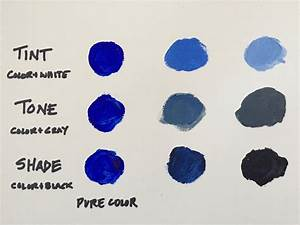 Mixing Colors  What You Need To Know About Tints  Tones  And Shades