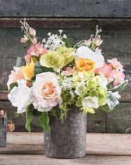 Large Hydrangea Silk Flower Arrangement