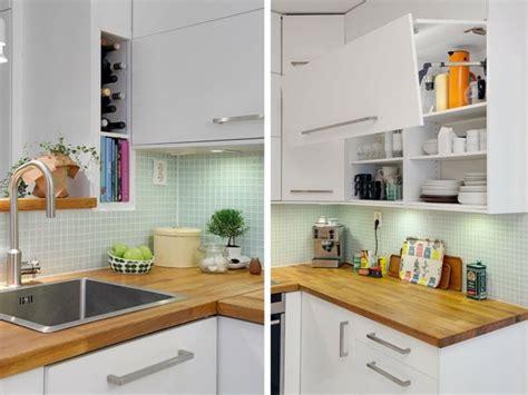 cuisine style scandinave la cuisine blanche et bois dans tous ses états