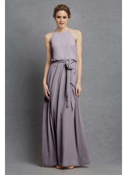 alana chiffon bridesmaid dress davids bridal