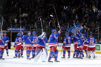 Rangers York Ny Minnesota Wild Backgrounds Nhl