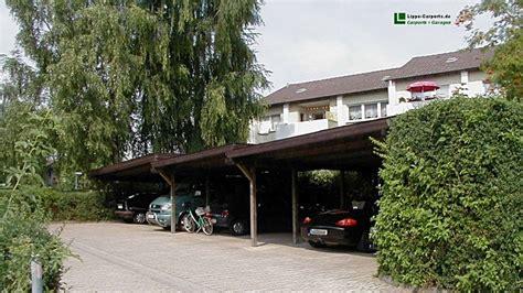 Dreiercarports + Reihencarports  Carport In Holz, Alu