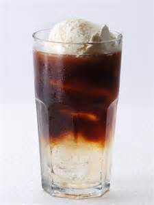 Rum Coke Floats