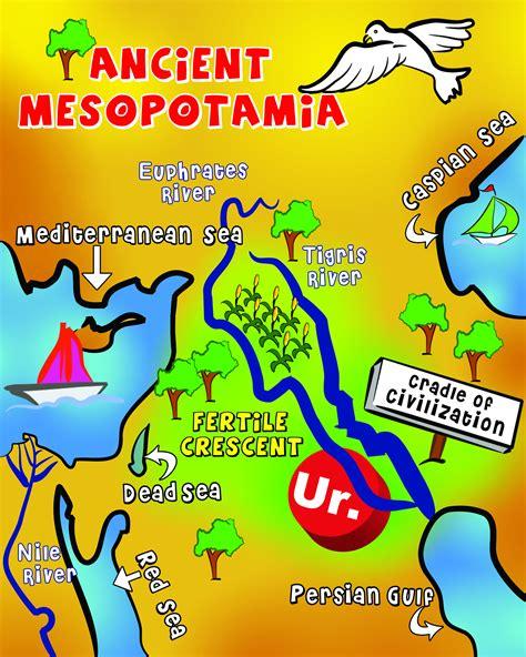 map clipart mesopotamia pencil   color map clipart