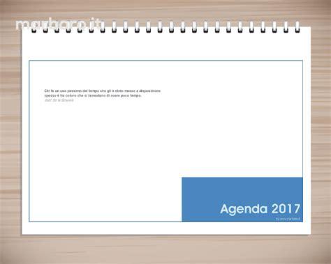 Planning Settimanale Da Scrivania by Agenda Planning 2017 Settimanale Da Tavolo Pdf Da Stare