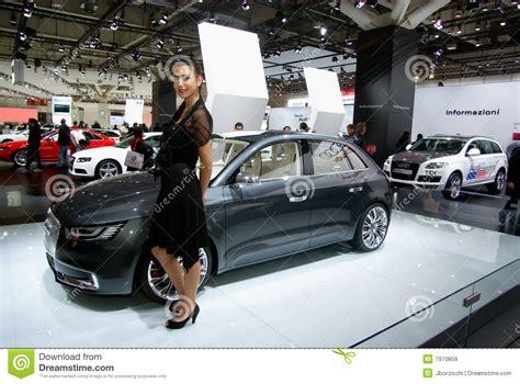 Hostess, Motor Show Bologna Editorial Stock Image