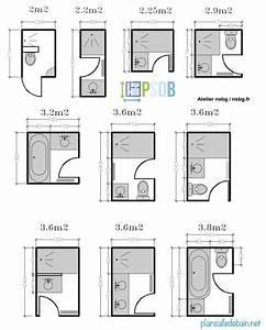 mon plan de salle de bain With plan salle de bain 4m2