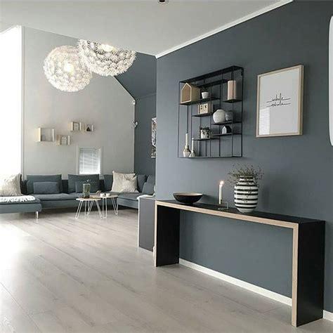 inspiration deco  couleur pour le salon gris