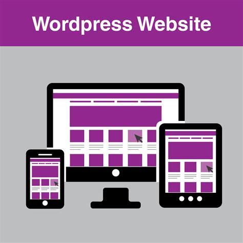 wordpress website sectrix graphic design services