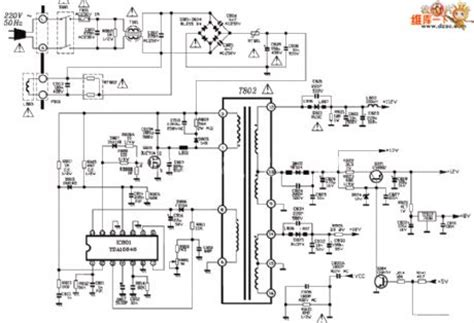 Tcl Power Supply Circuit Diagram