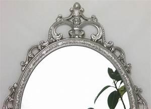 Spiegel Silber Antik : wandspiegel metallrahmen deko spiegel silber spiegel barock antik ~ Eleganceandgraceweddings.com Haus und Dekorationen