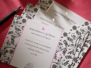 butterfly invitation with foil detail sj wedding With wedding invitations cheap london
