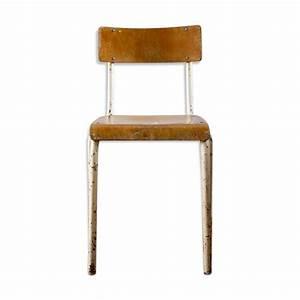 Chaise D école : chaise d 39 cole pour adulte de type mullca mes petites puces ~ Teatrodelosmanantiales.com Idées de Décoration
