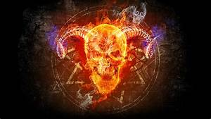 Fire Skull wallpaper - 933875