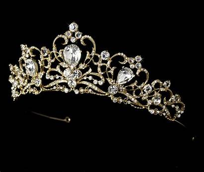 Royal Tiaras Bold Couture Gold Tiara Bridal