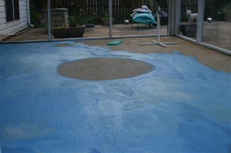 Painting A Concrete Patio Vapor Barrier Concrete Floor