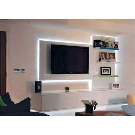 wall mounted tv unit at rs 20000 piece tv wall unit