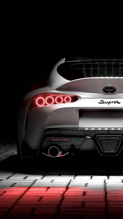 Supra Toyota Iphone Sportscar Backlight Background Galaxy