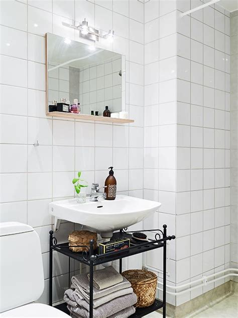 clever idea  storage   wall mounted sink wall