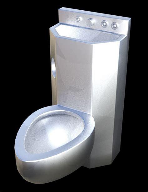 prison toilet  cgtrader