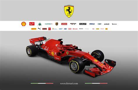 F1 Car Release Dates 2019 : Ferrari Reveals Its 2018 Formula 1 Car
