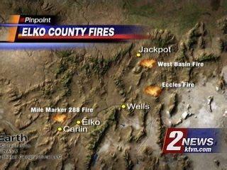 latest stats  brush fires burning  nevada california