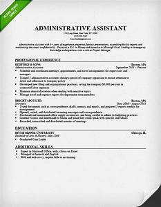 Administrative assistant resume sample resume genius for Executive assistant resume samples