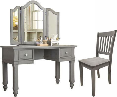 vanity desk with lake house stone writing desk with vanity mirror chair
