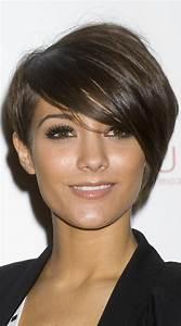 Coupe Longue Femme : coiffure courte frange longue ~ Dallasstarsshop.com Idées de Décoration