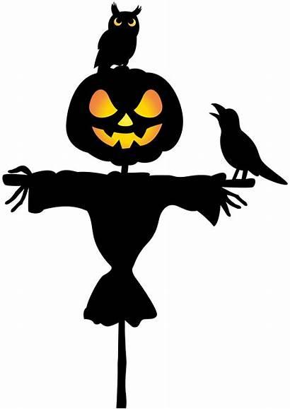 Scarecrow Halloween Clip Clipart Owl Raven Transparent