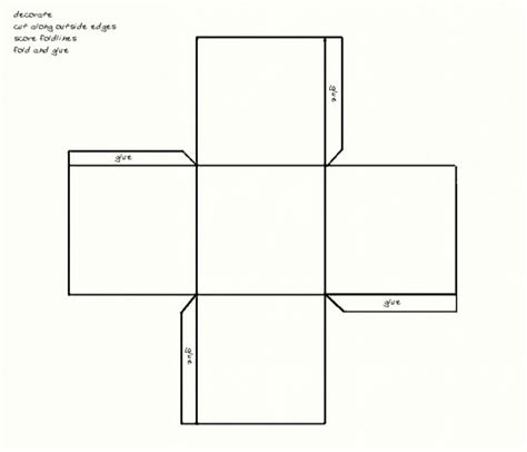 free box templates printable paper gift box template maker