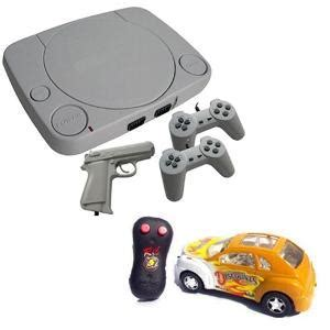 Combo of TV Video Game Kit & Racing Sports Car   Video