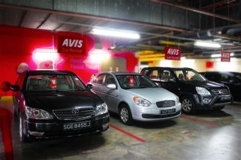 Avis Car Rental At Changi Terminal 3