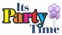 Lets Party Logo Party time   Clipart Panda - Free Clipart ...