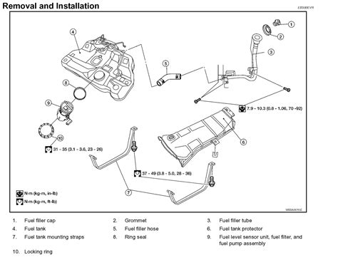 2003 Altima Fuel Filter Location by 2003 Nissan Murano Fuel Filter Location Wiring Library