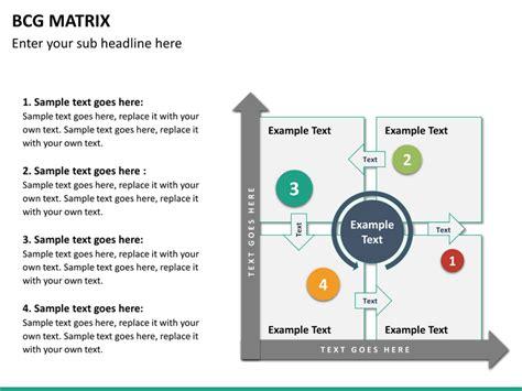 bcg matrix template bcg matrix powerpoint template sketchbubble